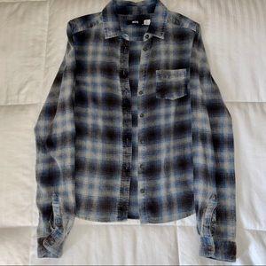 UO Blue / Black Flannel